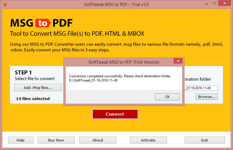convert msg to pdf online free